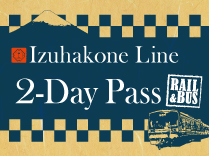 Izuhakone Line 2-Day Pass (RAIL&BUS)